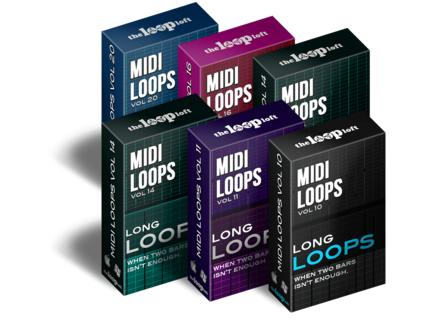 The Loop Loft Long Loops MIDI
