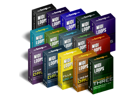 The Loop Loft MIDI Drum Loop Bundle