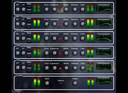 Thirty Two Audio Multiband Expander [Freeware]