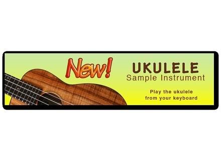 Tiki Records Concert Ukulele