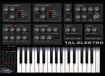 Togu Audio Line TAL-Elek7ro [Freeware]