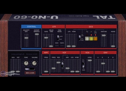 Togu Audio Line U-NO-60 [Freeware]