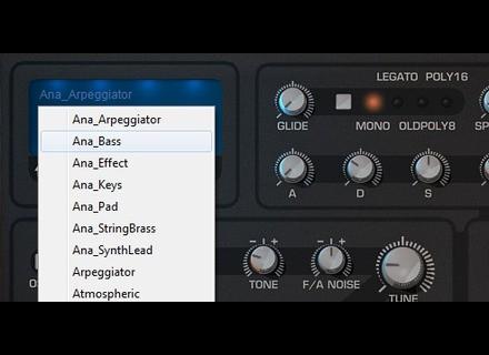 Tone2 Analog