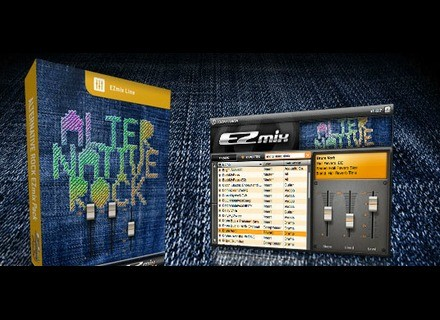 Toontrack Alternative Rock EZmix Pack