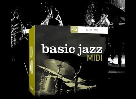 Toontrack Basic Jazz MIDI