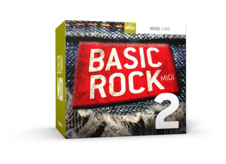 Toontrack Basic Rock 2 MIDI