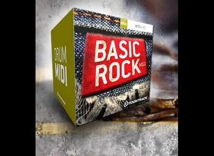 Toontrack Basic Rock MIDI