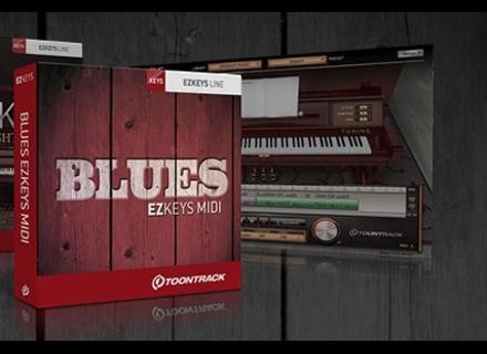 Toontrack Blues EZkeys MIDI