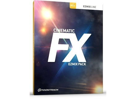 Toontrack Cinematic FX EZMix Pack