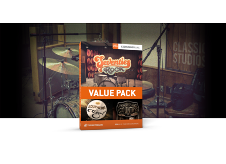 Toontrack Classic Studios EZX Value Pack