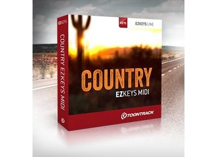 Toontrack Country EZkeys MIDI