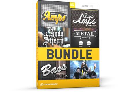 Toontrack EZmix Rock & Metal Guitar 6 Pack