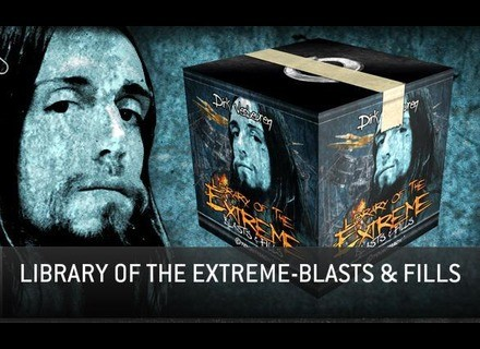 Toontrack Library of the Extreme - Blasts & Fills (by Dirk Verbeuren)
