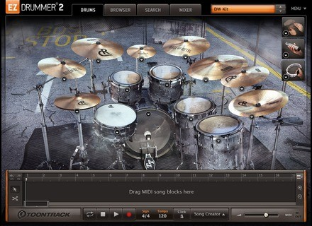 Toontrack Made of Metal EZX