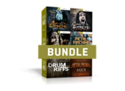 Toontrack Metal Drums MIDI 6 Pack