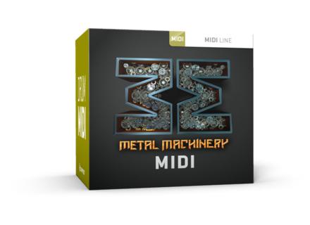 Toontrack Metal Machinery MIDI