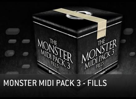 Toontrack Monster MIDI Pack 3 - Fills
