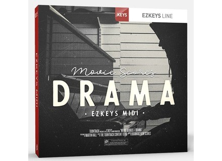 Toontrack Movie Scores – Drama EZkeys MIDI