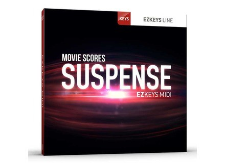 Toontrack Movie Scores – Suspense EZkeys MIDI