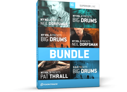 Toontrack N.Y. Studios Collection Producer Presets Bundle