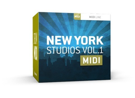Toontrack New York Studios Vol.1 MIDI