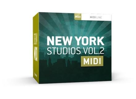 Toontrack New York Studios Vol.2 MIDI
