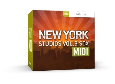 Toontrack New York Studios Vol.3 MIDI