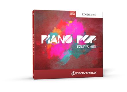 Toontrack Piano Pop EZkeys MIDI