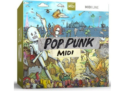 Toontrack Pop Punk MIDI