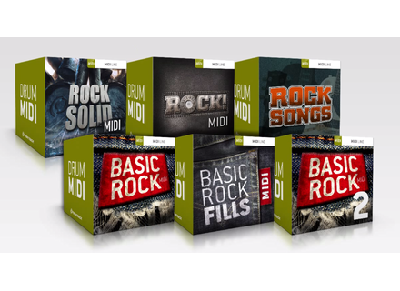 Toontrack Rock Drums MIDI 6 Pack
