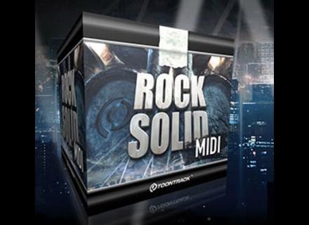 Toontrack Rock Solid EZX MIDI