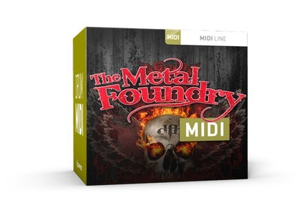 Toontrack The Metal Foundry MIDI