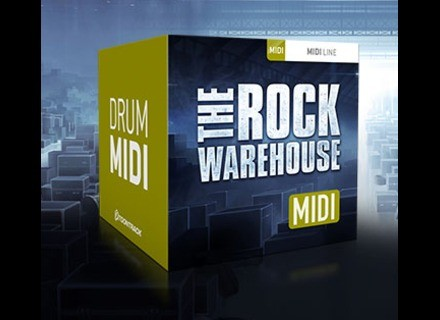 Toontrack The Rock Warehouse MIDI