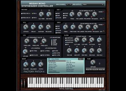 Total Kontrol Mssiah Mono Synthesizer Controller