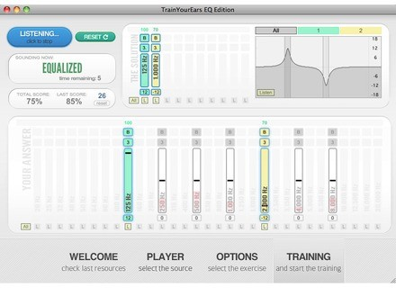 Train Your Ears TrainYourEars EQ Edition