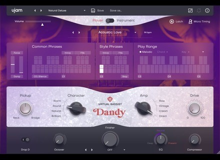 Ujam Virtual Bassist Dandy 2
