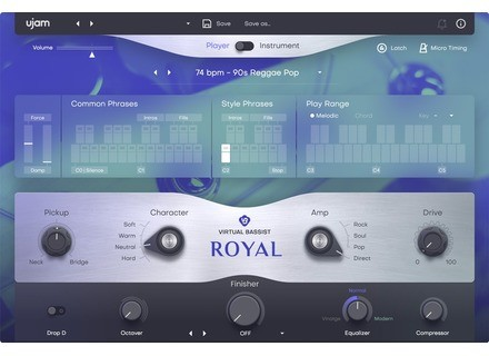 Ujam Virtual Bassist Royal 2
