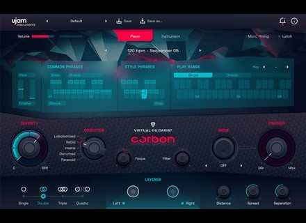 Ujam Virtual Guitarist Carbon