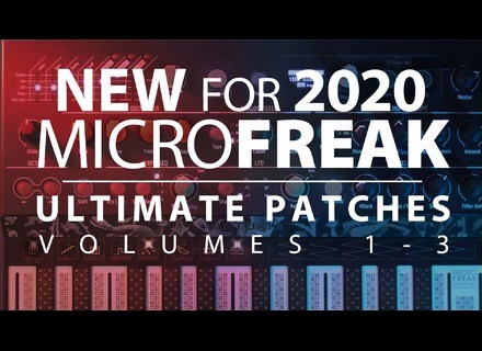 Ultimate Patches Arturia Microfreak Ultimate Patches Vol 1-3
