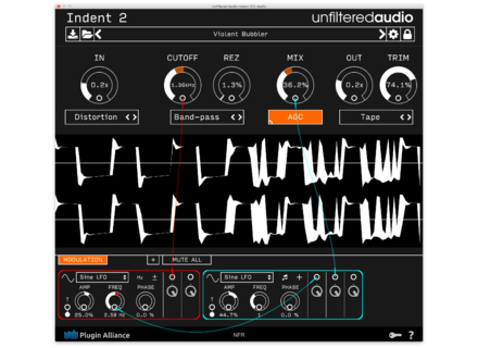 Unfiltered Audio Indent 2