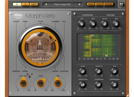 United Plugins MorphVerb by Muramasa Audio