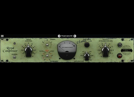 United Plugins Royal Compressor  by Soundevice Digital