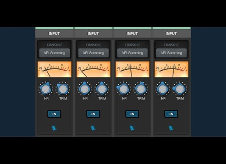 Universal Audio API Summing