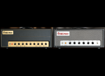 Universal Audio Friedman Amplifiers Plug-In Collection