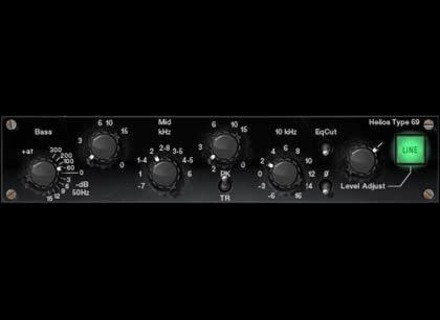 Universal Audio Helios Type 69 Passive EQ