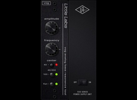 Universal Audio Little Labs Voice Of God Bass Resonance Plug-In