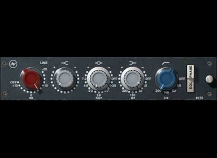 Universal Audio Neve 1073 EQ