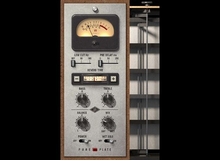 Universal Audio Pure Plate Reverb