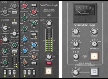 Universal Audio SSL 4000 Series Console Plug-Ins Bundle