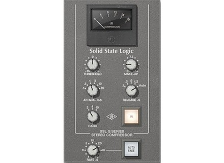 Universal Audio SSL G Series Bus Compressor Plug-In